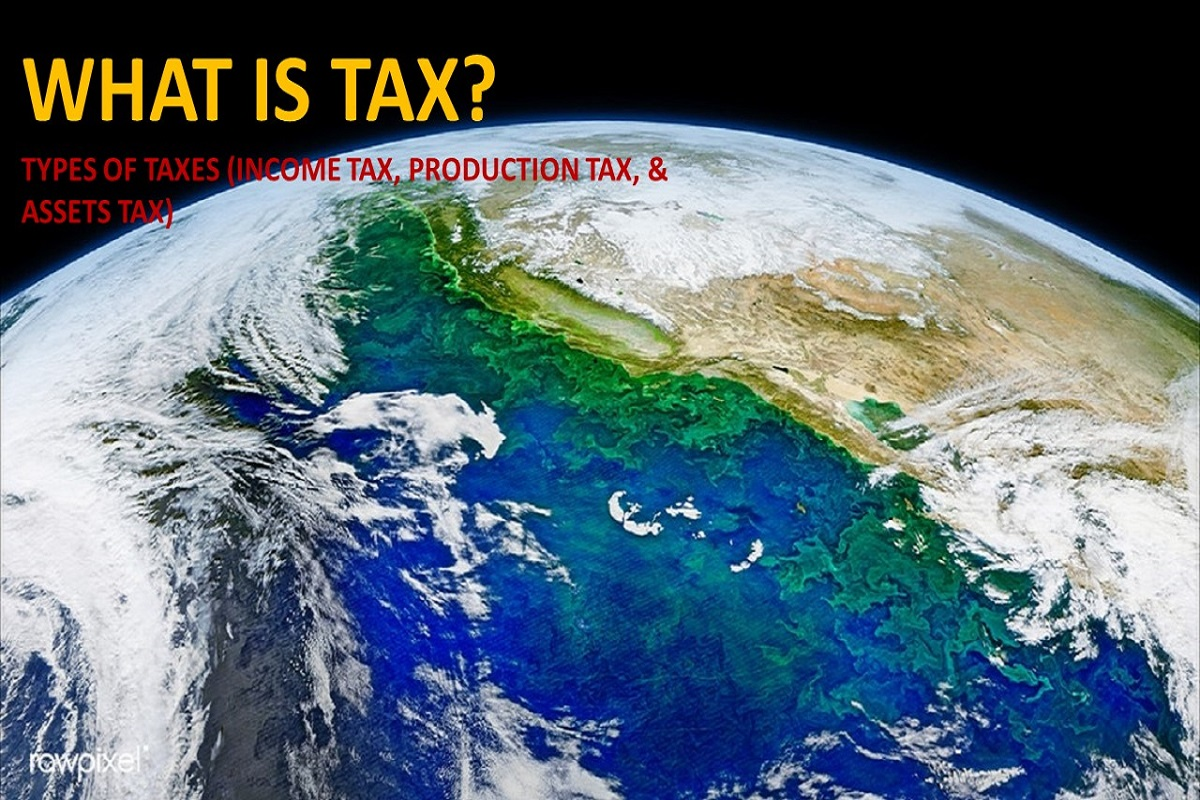 What is Tax? Types of Taxes (Income Tax, Production Tax, & Assets Tax)