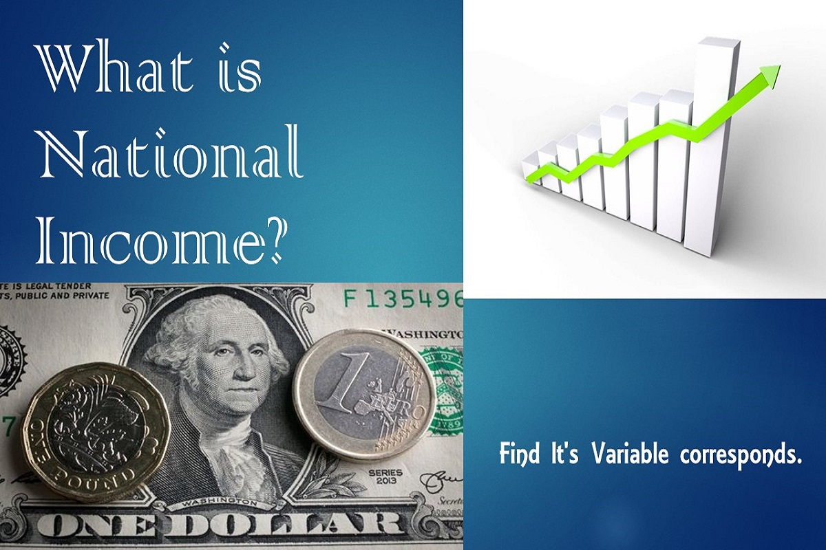 What is National Income ? Find It's Variable corresponds.