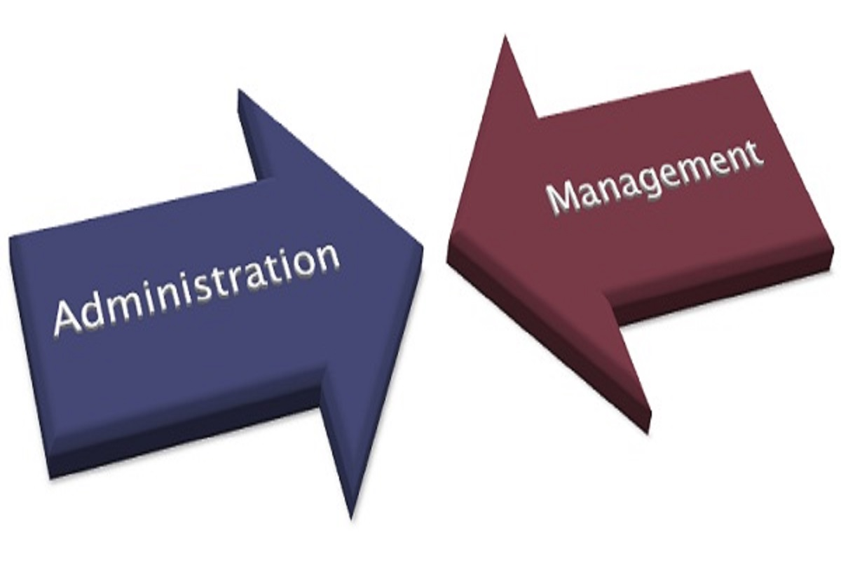 administration vs management
