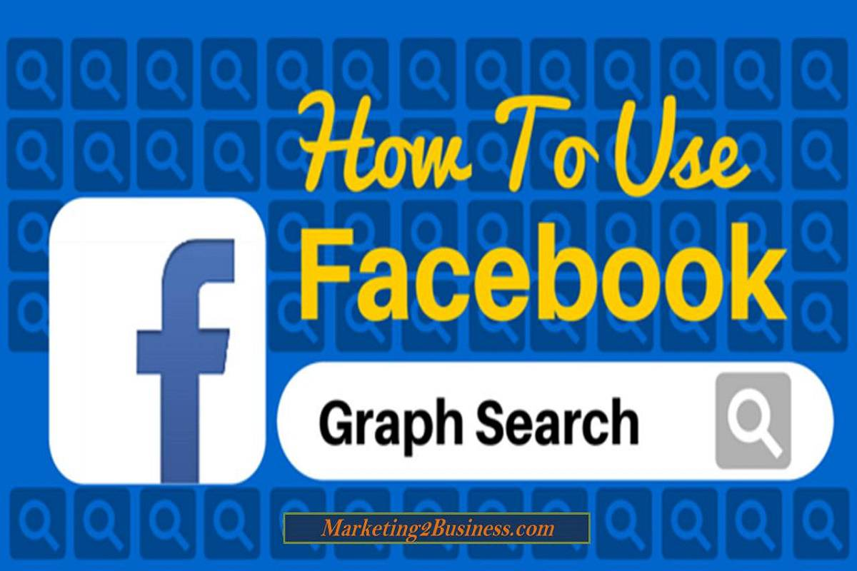 How to use facebook search graph
