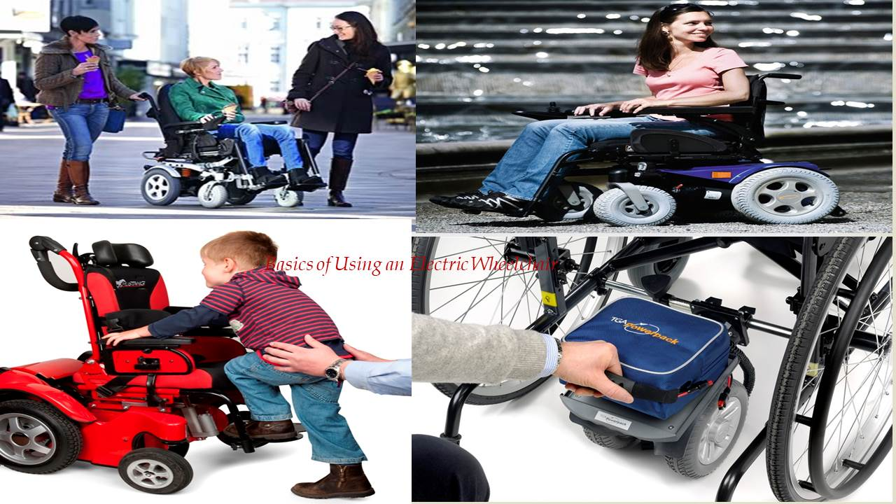 Learn About the Basics of Using an Electric Wheelchair