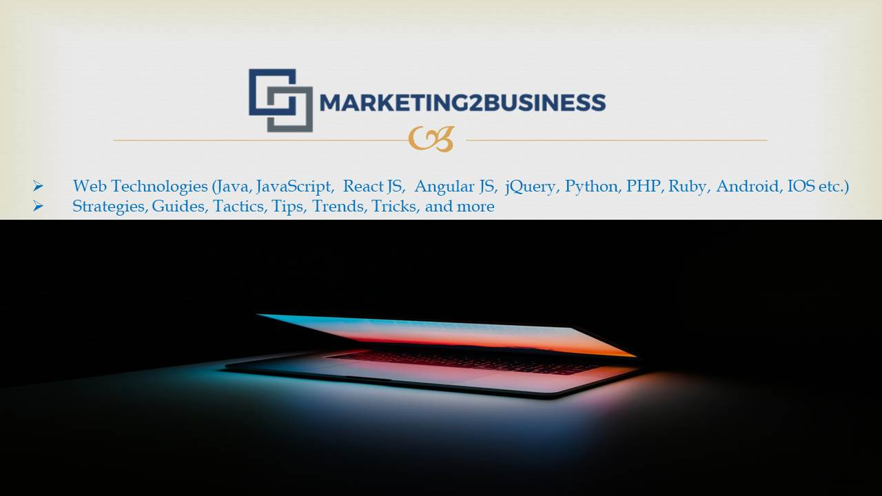 Technology write for us marketing2business