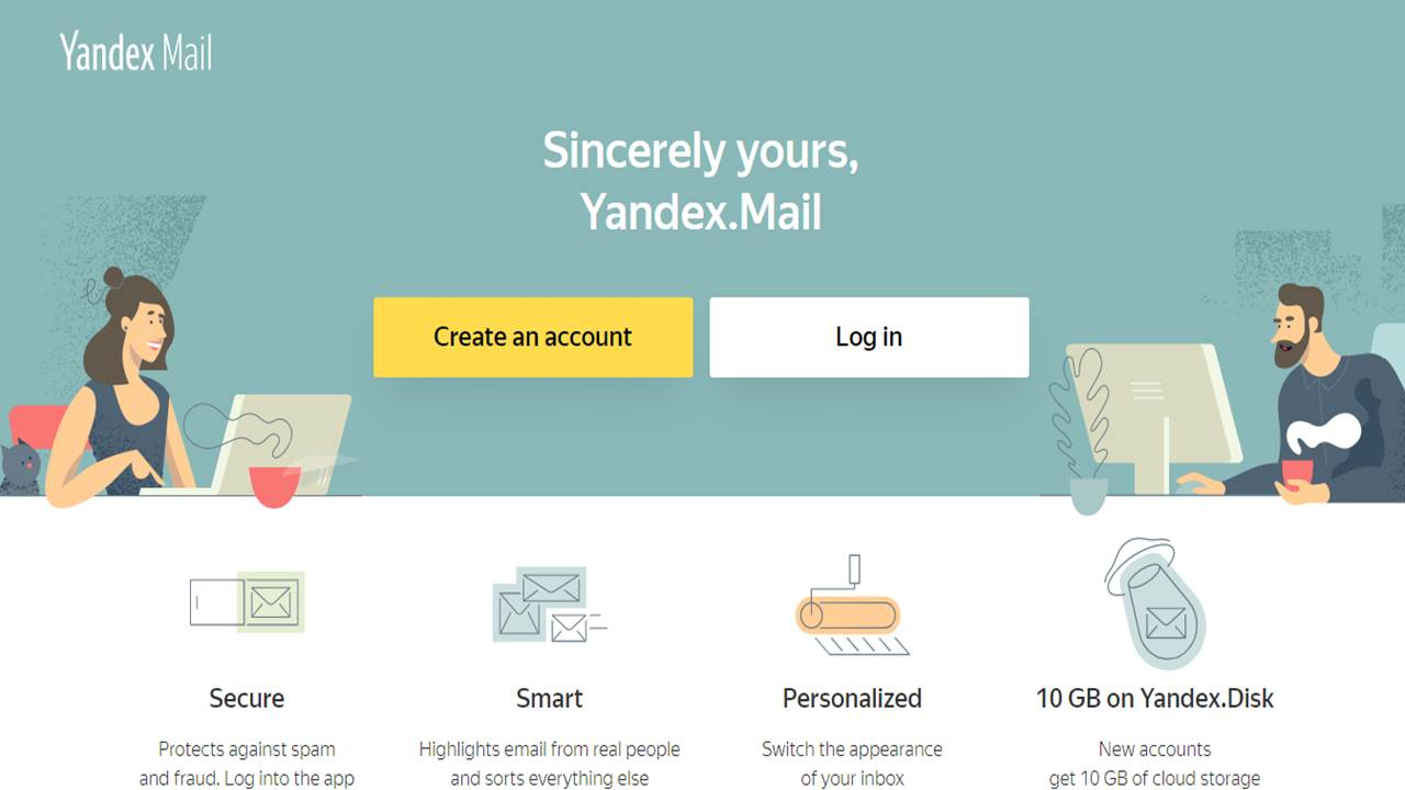 Yandex Free Email Account