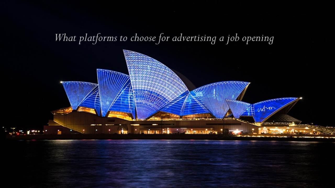 What Platforms to Choose for Advertising a Job Opening