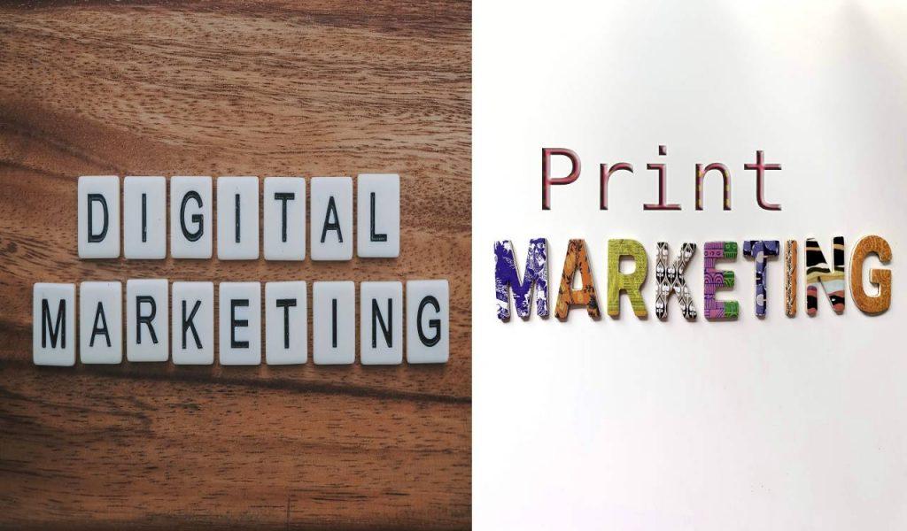 Digital Market and Print Marketing
