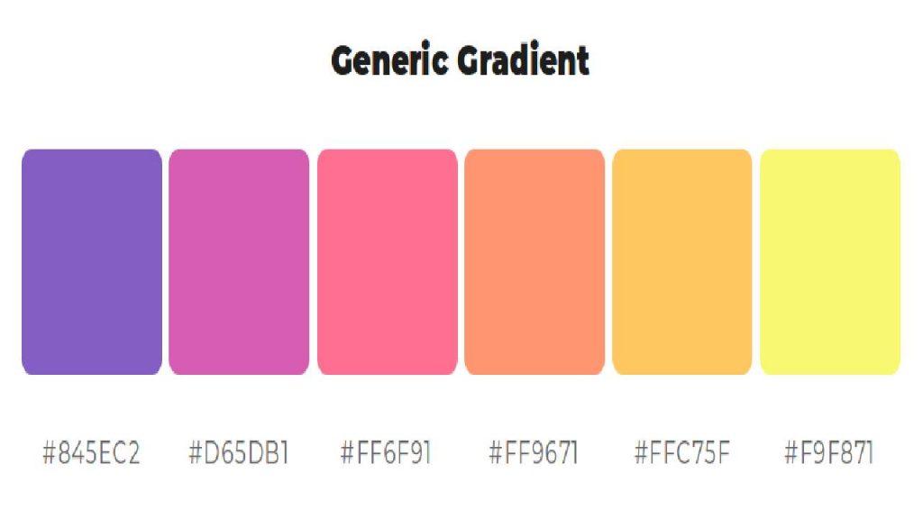 Generic Gradient