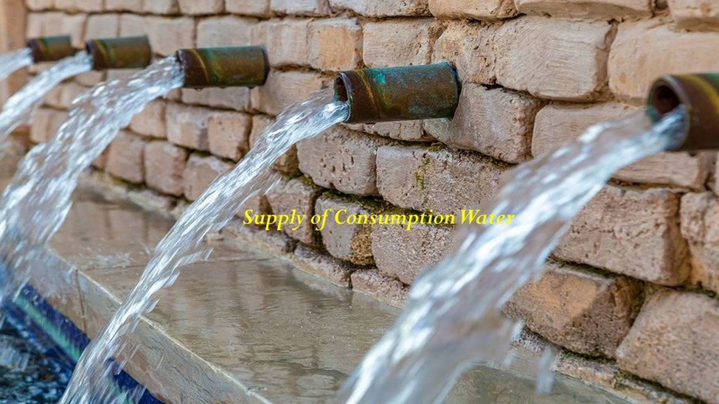Supply of Consumption Water