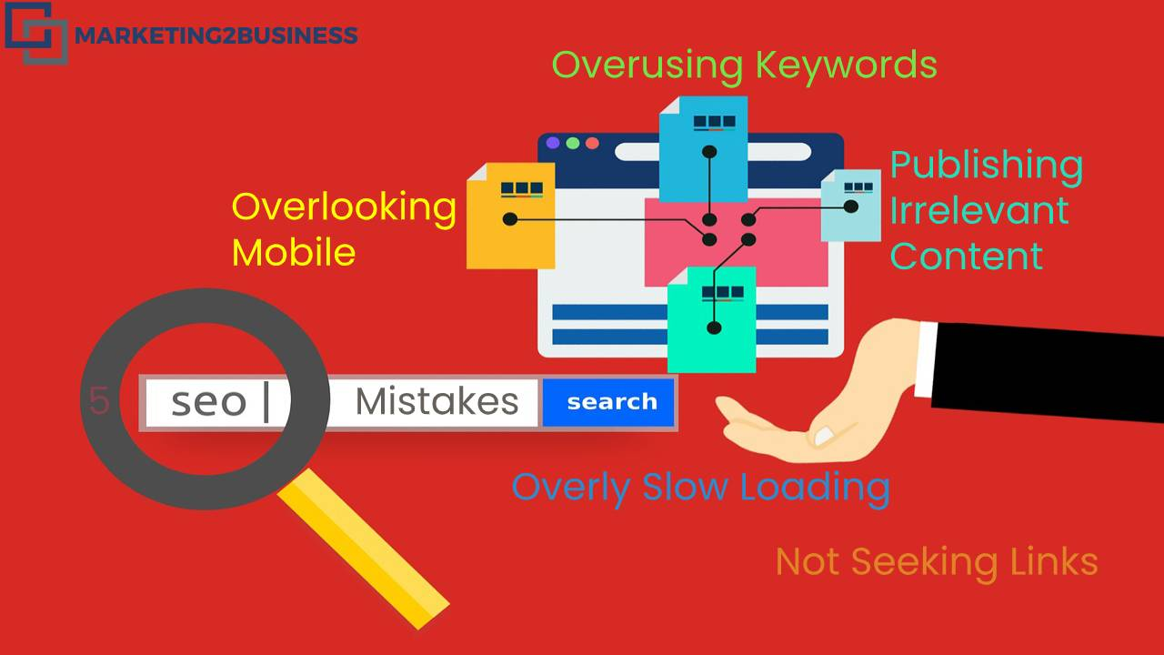 Deadly 5 SEO Mistakes That Are Drowning Your Search Engine Rankings?