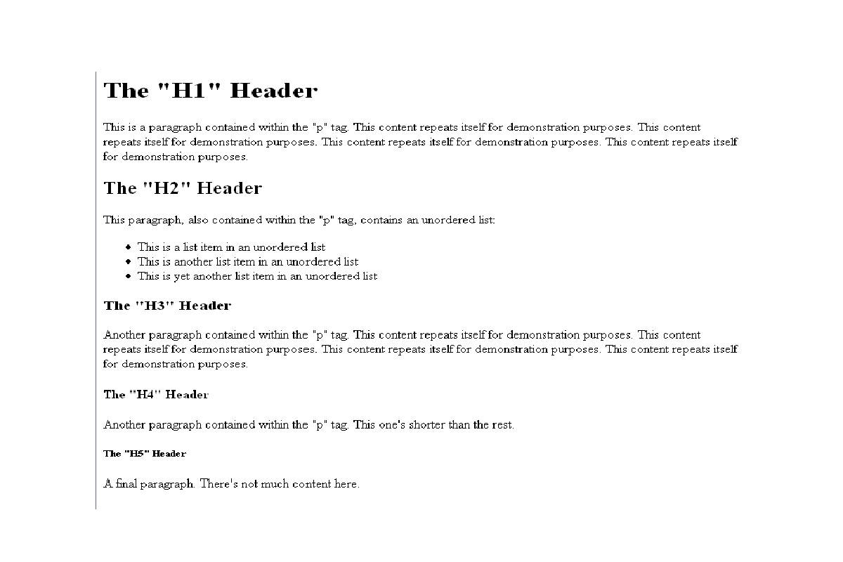 What are the HTML Headers? – Definition, Relevances, and More