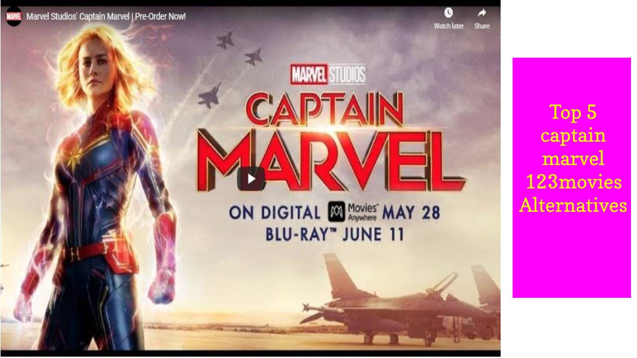 Captain Marvel 123movies – Top 5 captain marvel 123movies Alternatives