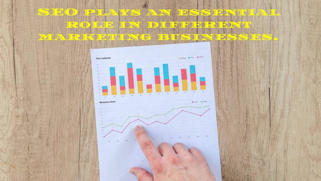 SEO plays an essential role in different marketing businesses