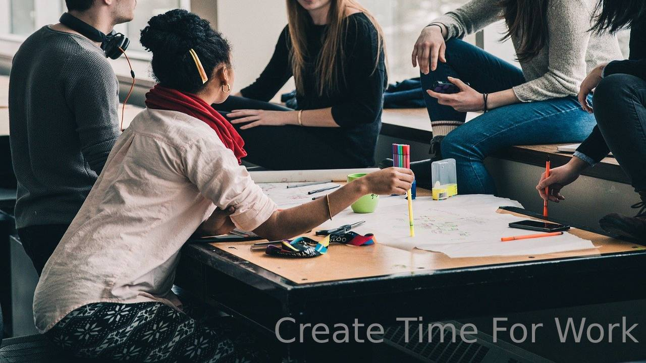 Best Ways To Create Time For Work While At College