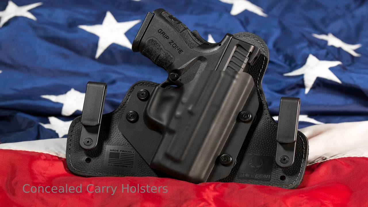 Top 8 Concealed Carry Holsters