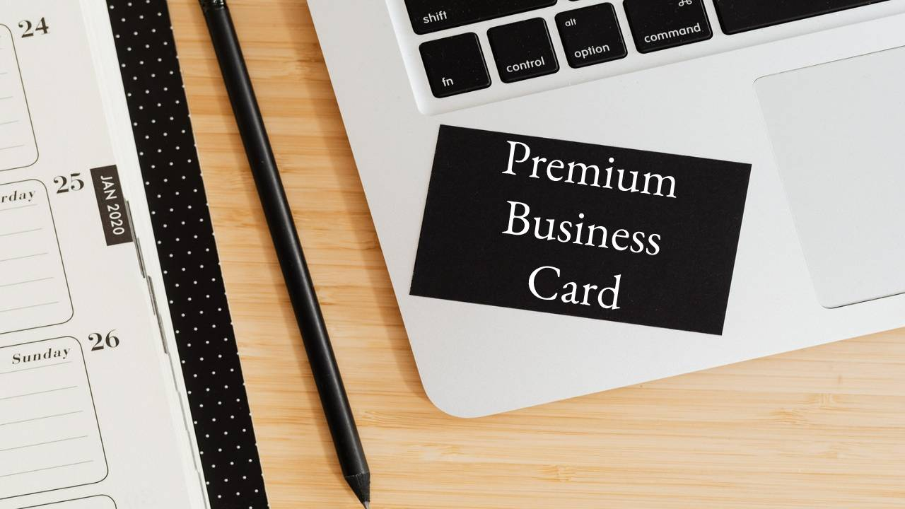 5 Elements Needed for a Premium Business Card