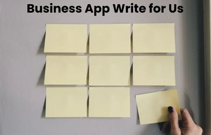 business app write for us