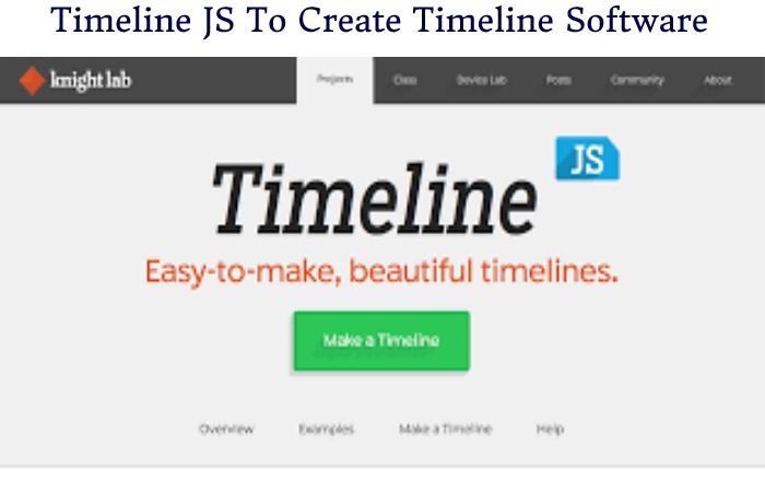 Free Timeline Software