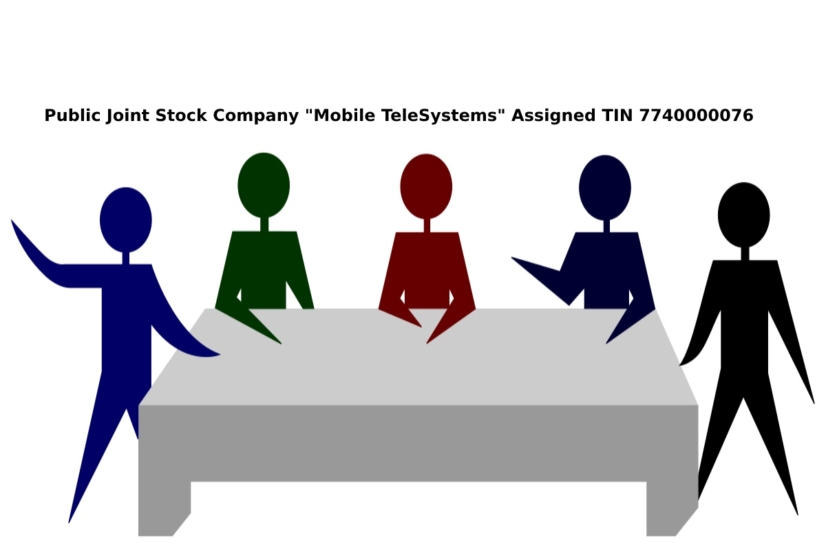 """Public Joint Stock Company """"Mobile TeleSystems"""" AssignedTIN 7740000076"""